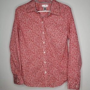 Isaac Mizrahi for Target women's XL button up top